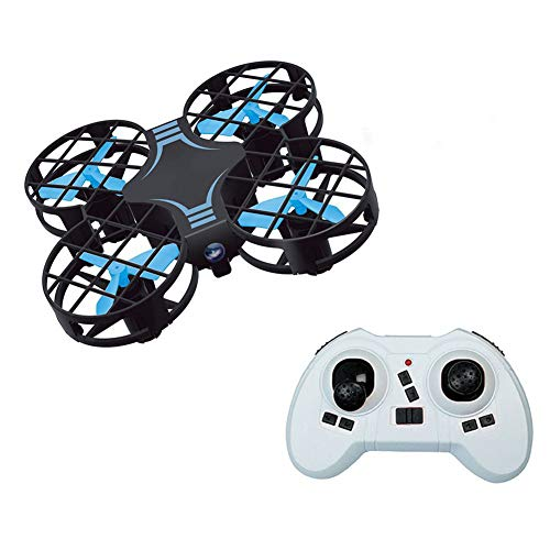 Mini-Drone pour Les Enfants/Débutants, Mini Drone Grille Quadcopter pour Les Débutants, Suivez-Moi, Auto Retour Accueil, Maintien D'altitude