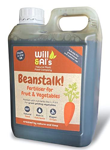 Will & Al's Natural Plant Food Company Beanstalk Fertiliser for Fruit and...