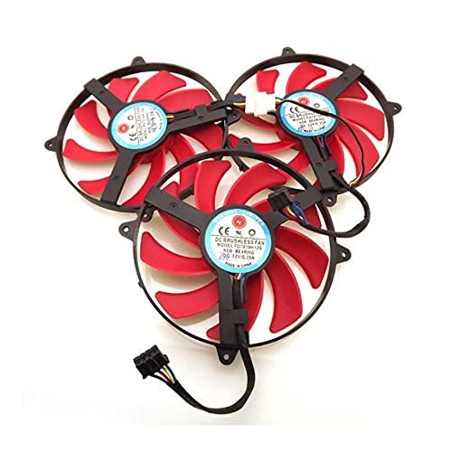 A Set NTK FD7010H12S 90mm 12V 0.35A Graphics Card Cooling Fan For AMD ATi Radeon HD7990 Cooling Fan