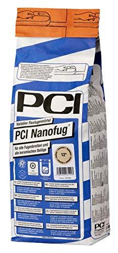 PCI Nanofug Variabler Flexfugenmörtel 4 kg - 16 Silbergrau - alle Fugenbreiten mit hohem optischem Anspruch