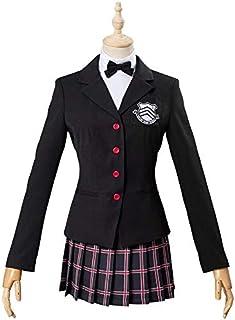COSPLAY ペルソナ5 コスプレ 芳澤 かすみ(よしざわ かすみ) コスプレ 衣装 P5 コスプレ 制服 コスチューム cosplay 女性S (S)