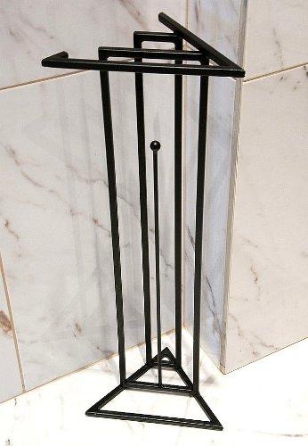 DanDiBo Designer Toilettenrollenständer Luxx Black Toilettenpapierhalter Toilettenrollenhalter