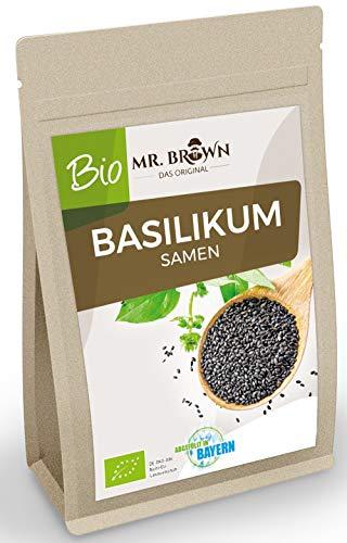 Mr. Brown BIO Basilikum Samen 500g, Verwendung wie Chia Samen