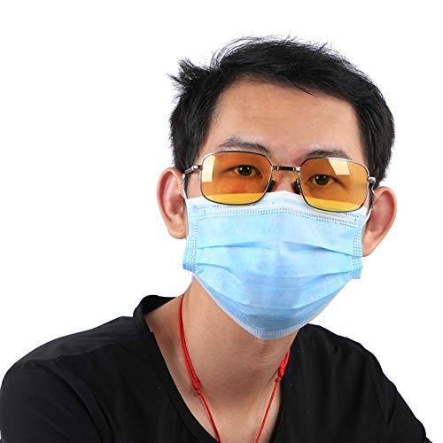 DAUERHAFT Gafas de Sol Plegables de Moda, para Proteger los Ojos(Gun Frame...