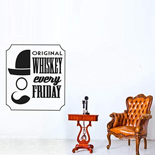 Originele Whiskey Every Friday For Bar Art Decor Decals for Kitchen Decoration Murals for Bar 59.4x74.2 cm