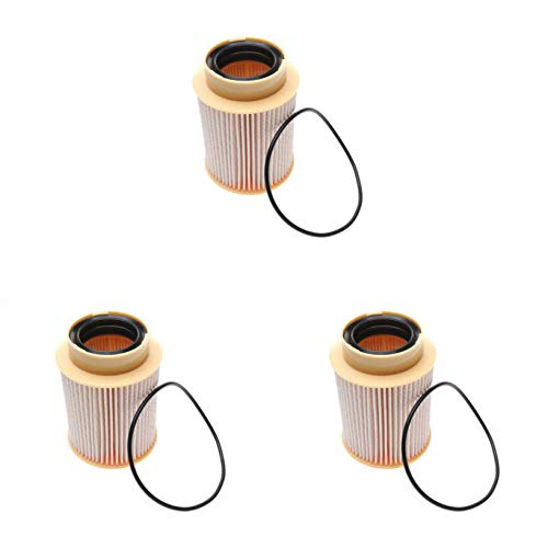 iFJF FF63017NN Fuel Filter Replacement for 5.0L V8 Diesel Engines 2015-2017 Nissan Titan XD 4335493 4378483 16403EZ41A(Set of 3)