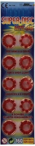 Edison Armi Colpi Accessori Blister Super Disc 125 Db 160 Colpi