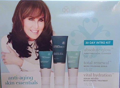 Robin McGraw Revelation 30 Day Intro Kit Anti-Aging Skin Essentials (2oz, 1 oz, 1 oz products) by Mcgraw, Robin