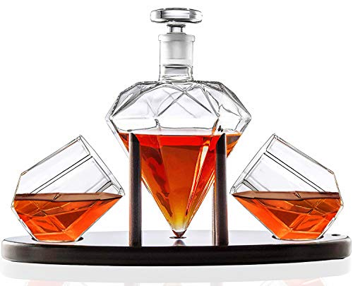 1. Diamond Whiskey Decanter