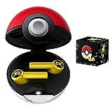 Casque sans Fil Bluetooth PokéMon Contrôle Tactile Pokemon étanche Véritable Casque stéréo sans Fil Écouteurs Intra-Auriculaires à réduction de Bruit Pikachu avec boîte de Charge Elf Ball