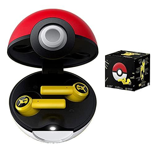 Casque sans Fil Bluetooth PokéMon Contrôle Tactile Pokemon étanche Véritable Casque stéréo sans Fil Écouteurs Intra-Auriculaires...