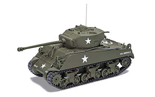 Corgi Diecast Sherman M4 A3 Late Version Tank 1944 1:50 US Army Military Legends WWII Display Model CC51031