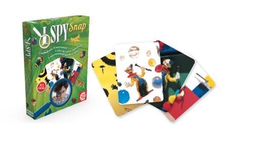 Game Factory 646111 - I Spy - Snap, Kartenspiel mit extra grossen Karten
