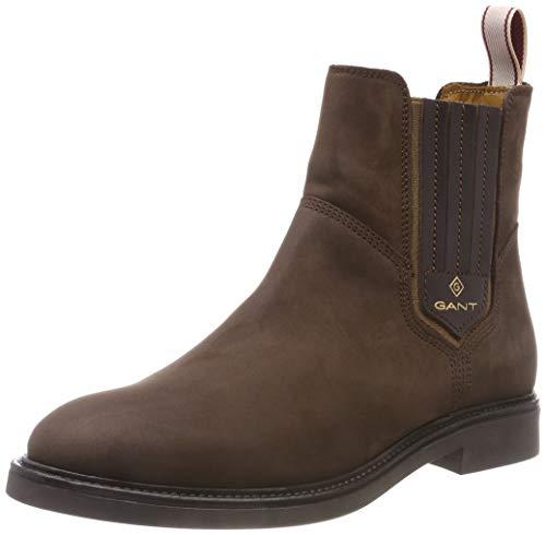 GANT Footwear Damen Ashley Chelsea Boots, Braun (Dark Brown G46), 40 EU