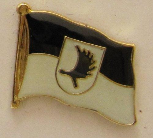 Pin Anstecker Flagge Fahne Ostpreussen Elchschaufel Flaggenpin Badge Button Flaggen Clip Anstecknadel Elch