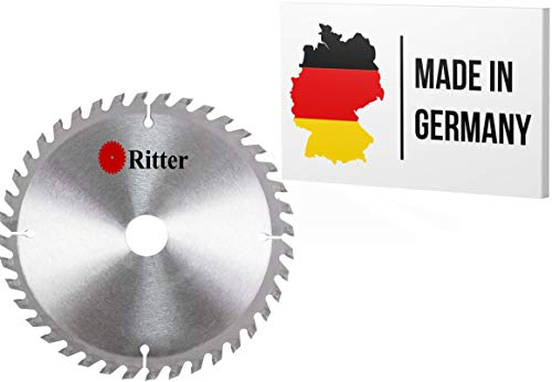 Ritter  disco sierra circular 450 x 30 mm madera | discos de corte para madera 450x30 | hoja de sierra circular | Compatible con sierras circulares de Bosch, Makita, Festool, evolution etc.
