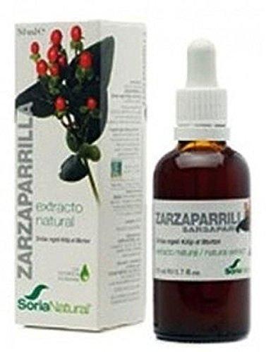 Extracto de Zarzaparrilla S/Al 50 ml de Soria Natural