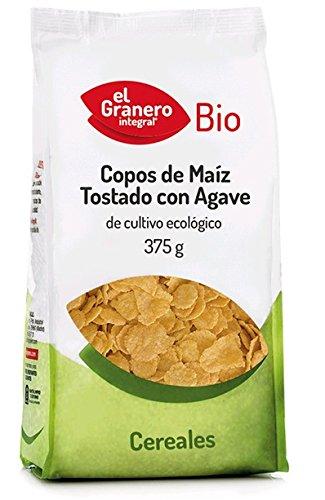 COPOS MAIZ TOSTADO C/AGAVE BIO 375 gr