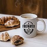 N\A Regalo di Laurea per Pompieri Regali per Pompieri per Uomini e Donne. Tazza da Pompiere Regalo per Vigile del Fuoco volontario Regali per Pompiere Pompiere M266