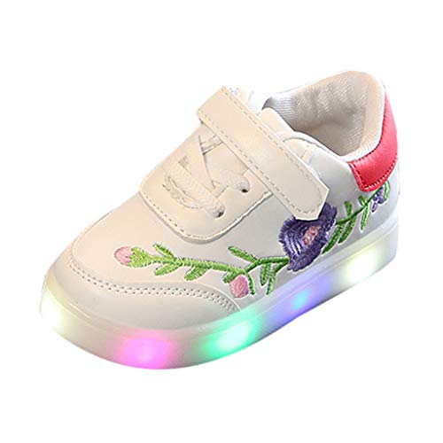 Sneaker Running Mixte Bébé,Chaussures de Sport Enfants Manadlian Basket LED Bébé Fille Garçon Casual 2019 Nouveau Baskets Basses Lumineux Chaussures by Hliyy