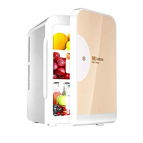 LT Auto Koelkast 22L Mini ultrastille Low Noise Electric Cooler en isolatie AC/DC Portable Freezer goud