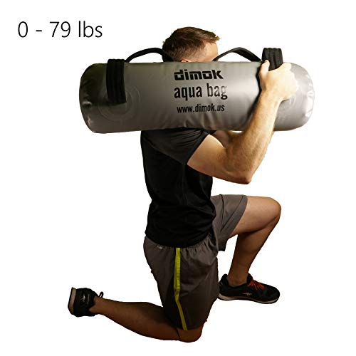 Dimok Crossfit Training Aqua Bag - Home Gym Must Have - Sandbag Alternative - Portable Weight Strength Exercise Workout - Comes with a Foot Pump (79.00, 75 X 25 cm)