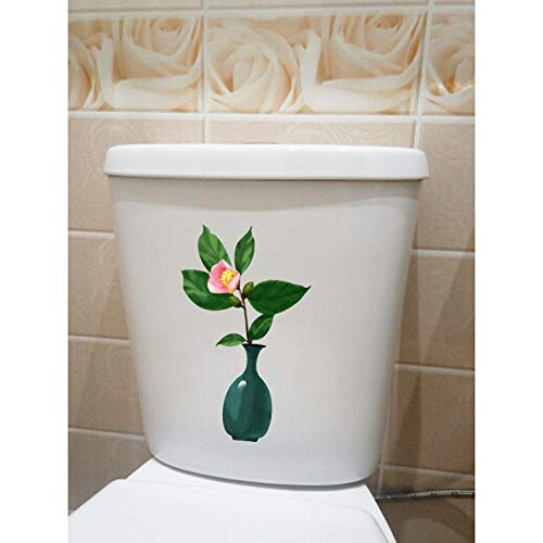 Liafa 13X21,5 Cm Blumentopf Frische Cartoon Wandaufkleber Home Room Bad Wc Decor 3 Pcs