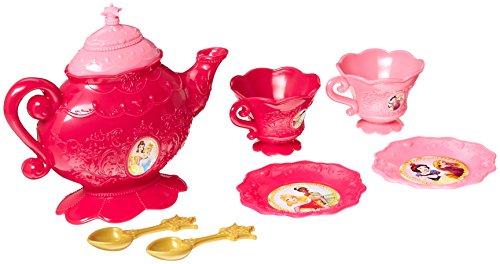 Disney Princess 98062 8 Piece Tea Set Teaset, Mehrfarbig