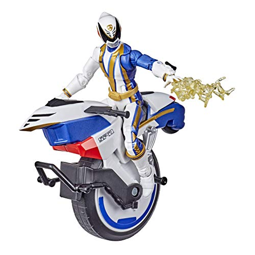Power Rangers Lightning Collection S.P.D. Omega Ranger and Uniforce Cycle Vehicle 6-Inch Collectible Figure Toy (Amazon Exclusive)