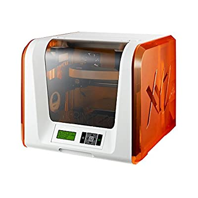 XYZ Printing da Vinci Jr. 1.0 3D printer (fully assembled), FREE for: £12 300g PLA filament, £15 maintenance tools, modelling software, and video tutorials, 15x15x15cm Built Vol, Auto Leveling