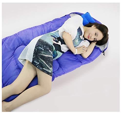 Bdclr Outdoor-campingslaapzak, dikke warme slaapzak voor volwassenen.