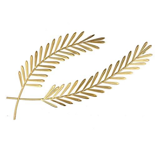 HEALLILY Decoración de Pared de Metal Colgante de Oro Escultura de Pared de Trigo Decoración de Pared 77X34cm Orejas de Trigo Adornos para Rústico Granja Otoño Decoración de Arte de La