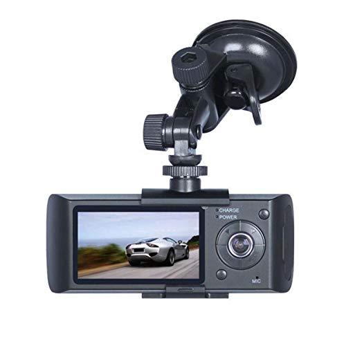 GOFORJUMP Double Caméra Voiture DVR R300 avec GPS et 3D G-Capteur 2.7\