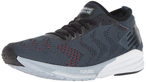 New Balance Men's FuelCell Impulse V1 Running Shoe, Dark Grey, 9 2E US