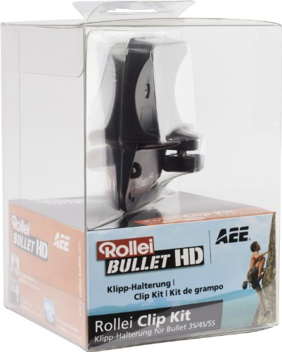 Rollei Clip Kit für Rollei Actioncam 3S / 4S / 5S / 5S WiFi / S-50 / 6S / 7S
