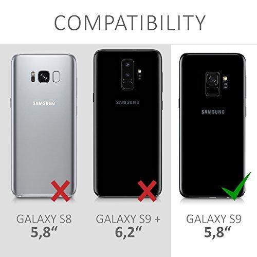 kwmobile Coque compatible avec Samsung Galaxy S9 – Coque ...