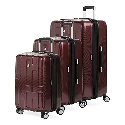 SWISSGEAR 7796 3-Piece Expandable Hardside Spinner Luggage (Tawny)