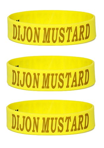 Dijon Mustard: Squeeze Bottle Label: Fits 8 oz. Bottles: 3 Pack