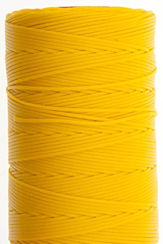 Fantastic Deal! 1.2mm Yellow Ritza 25 Tiger Wax Thread For Hand Sewing. 25 – 125m length (125m)