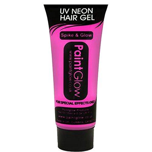 Smiffys - SM46096 - Gel Cheveux UV 10 ml Rose - Taille Unique
