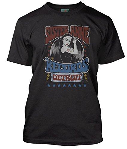 MC5 Inspired Sister Anne, Herren T-Shirt, Small, Schwarz