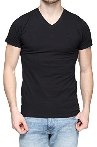 Teddy Smith TAWAX MC T-shirt Homme, Noir (Noir 171), X-Large