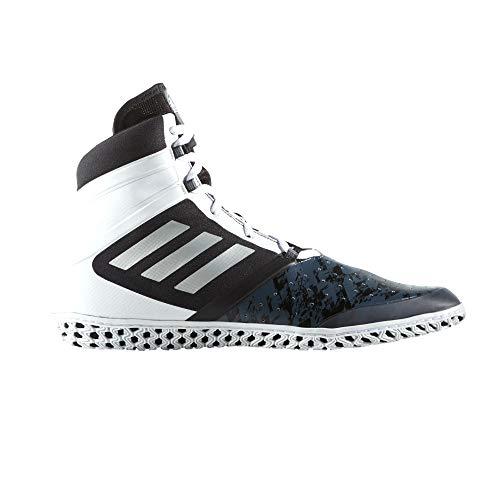 Adidas Flying Impact Wrestling Schuhe, Schwarz - schwarz / weiß - Größe: 44 EU