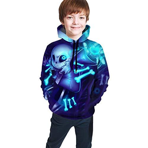 LinsSone Hoodie Kids Hoodies 3d Print Unisex Pullover Sweatshirts For Boys Girls