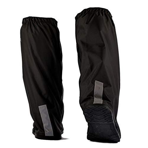 YUYAXPB Zapatos a Prueba de Agua Cubierta, Cubrecalzado Impermeable Moto Botas, Fundas de Lluvia para Zapatos, para Mountain Road Zapatos de Bicicleta, XL