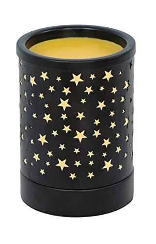 NOTOC Metal Wax Melt Warmer Electric Wax Burner Melter Fragrance Warmer for Home Office Bedroom Living Room Gifts & Decor (Stars)