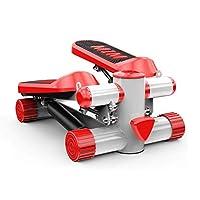家庭用クロストレーナー エクササイズ機器レッド体重120キロ油圧バッファにその場ペダルマシンのホーム減量マシンサイレントステッパー無料のインストール(カラー:RED、サイズ:43 * 33 * 21センチメートル) 有酸素運動 室内運動 家庭用