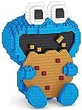 Dibujos Animados Sesame Street Elmo Galletas Monstruo Bloques de construcción Bloques de acción Figuras de acción Niños DIY DIY Juguete Educativo Regalo, Rojo