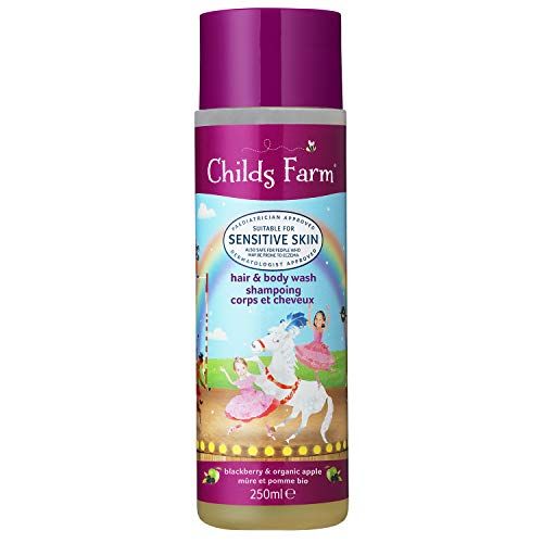 Child's Farm Shampoing Corps et Cheveux Mûre et Pomme Bio 250 ml