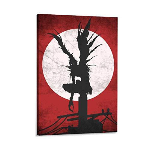 Ryuk Death Note - Lienzo decorativo para pared (40 x 60 cm)